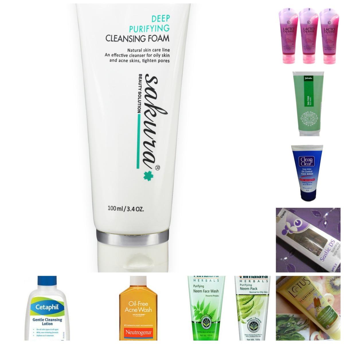 Top 10 loại sữa rửa mặt cho da dầu nhờn
